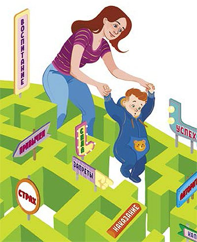 воспитание ребенка матерью