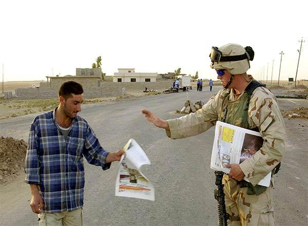 информационно-психологические операции в Ираке