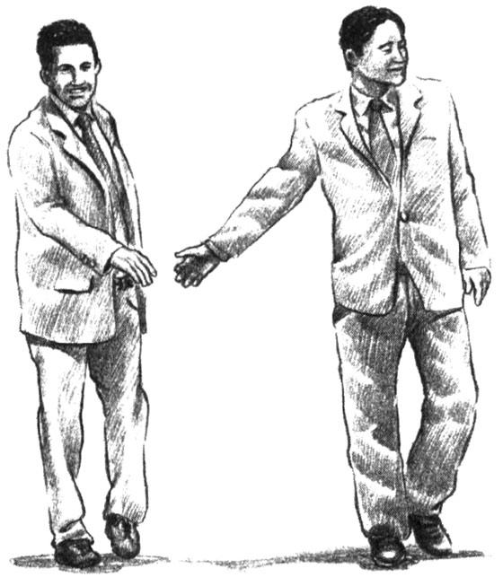 жесты рукопожатий