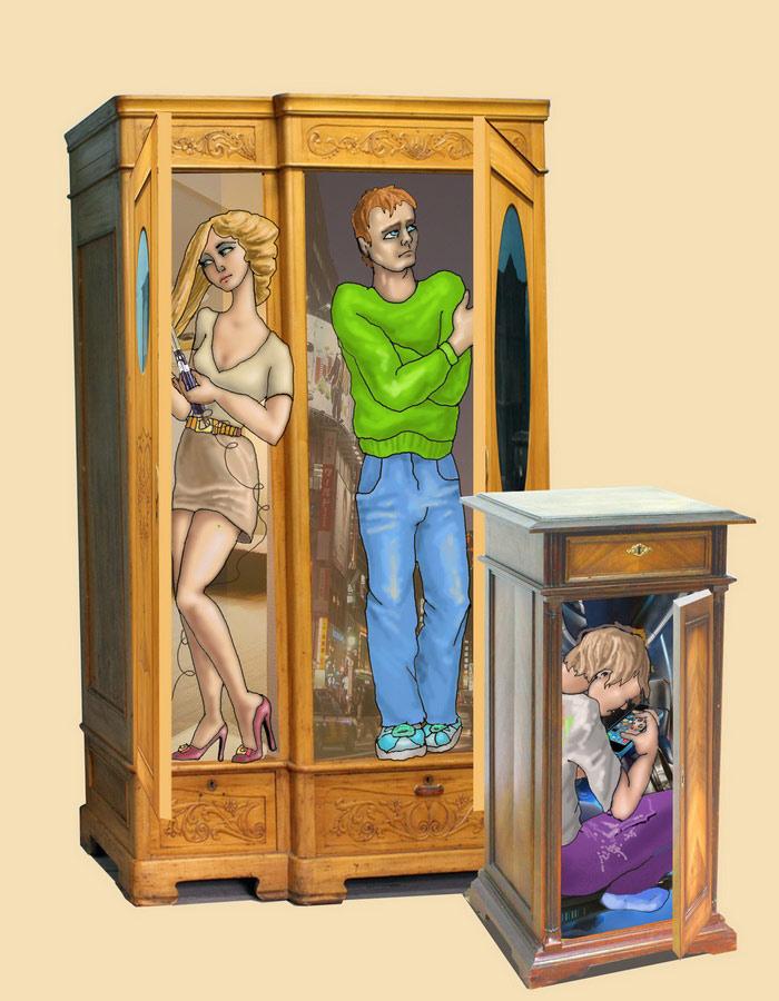 люди из шкафа