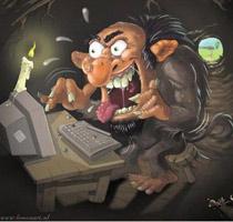 интернет троллинг онлайн