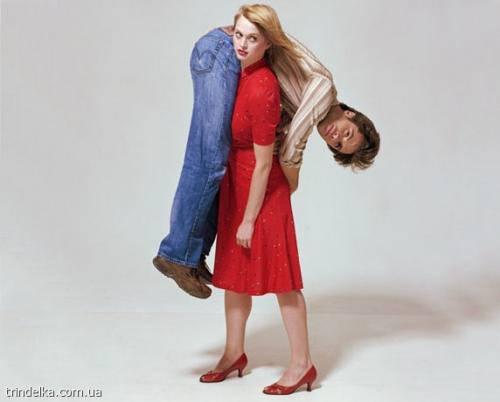 Записки психолога Cильный мужчина слабая женщина Слабый мужчина сильная женщина