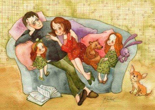 О роли матери и отца в воспитании детей
