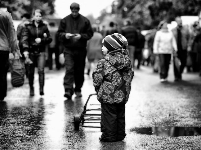 Один среди миллионов людей  Одиночество
