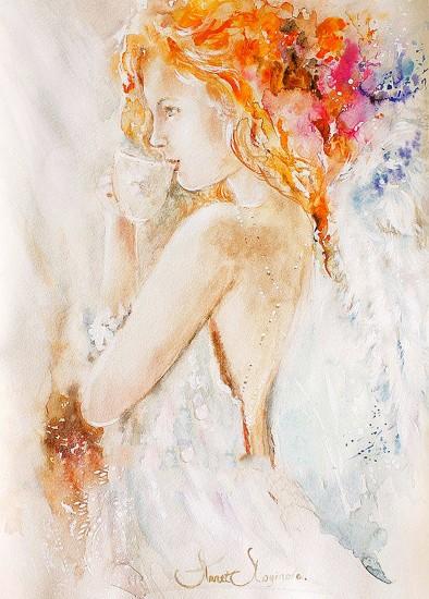 Angel s stories Улыбка художницы