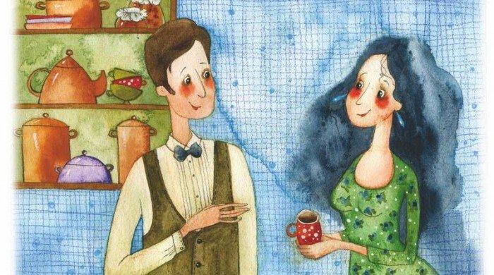 Открытки семья муж и жена