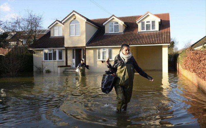 потоп дома фото