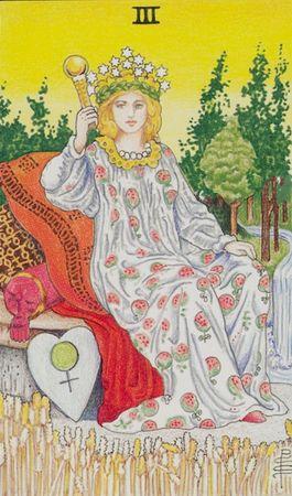 III Императрица. Земная мать.