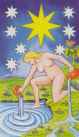 XVII Звезда. Источник живой воды, секрет которого не в качестве воды, а в том, что его трудно найти.