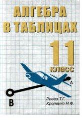 Роева Т.Г., Хроленко Н.Ф. Алгебра в таблицах. 11 класс