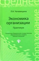 Чечевицына Л.Н. Экономика организации. Практикум